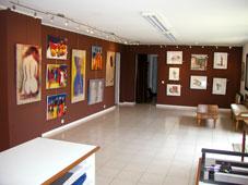 Salle 1 de la Galerie Le Chevalet d'Art