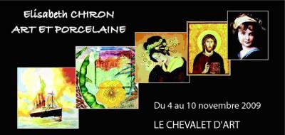 Vernissage de l'exposition de Elisabeth CHIRON