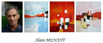 acryliques de Alain MENANT