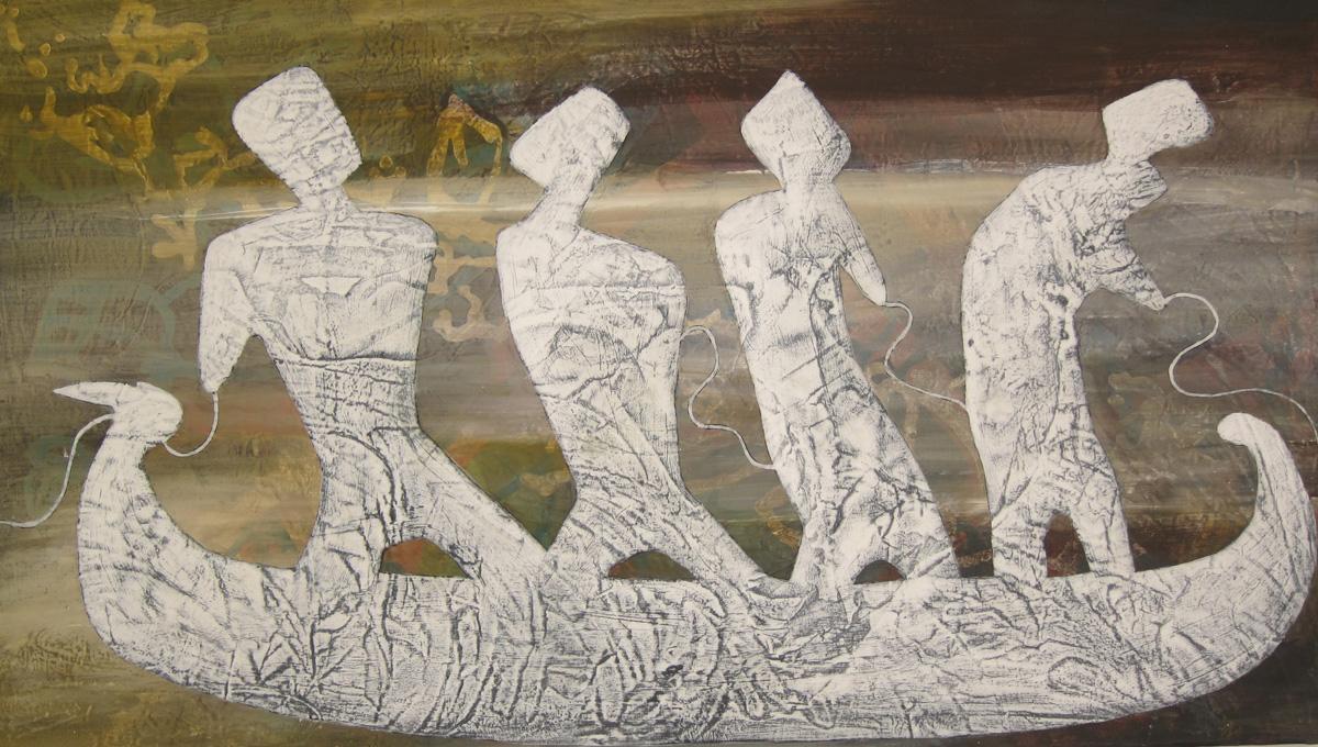 Acrylique toile 70X40